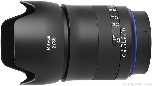 Zeiss Milvus 35mm f/2 Lens Product Images