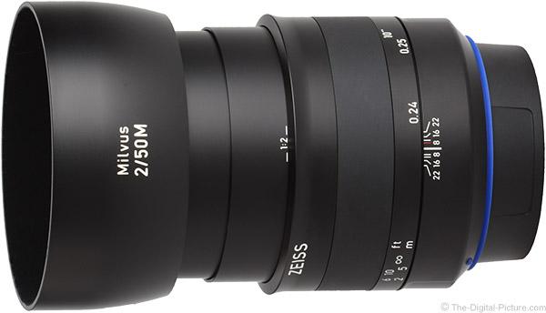 Zeiss 50mm f/2M Milvus Lens Product Images