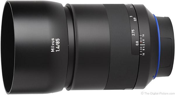 Zeiss Milvus 85mm f/1.4 Lens Product Images