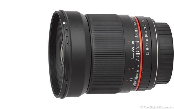 Rokinon (Samyang) 16mm f/2 ED AS UMC CS Lens Review