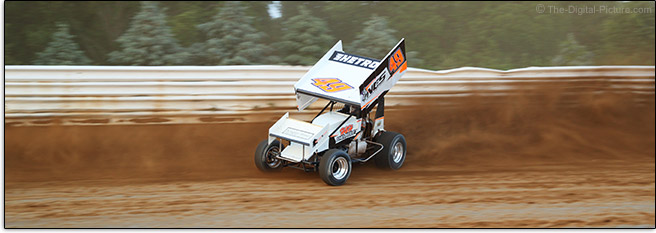 Sprint Car Racing Dirt Flying