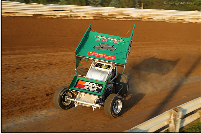 Sprint Car Turning