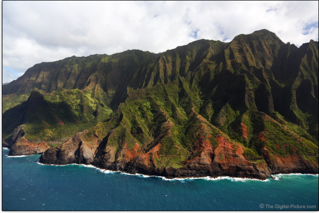 Helicopter Photography - Na Pali Coast, Kauai, Hawaii